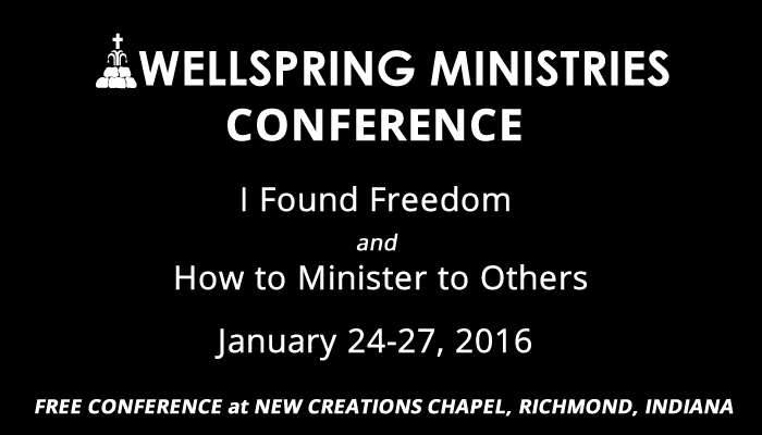 wellspring ministries conference at new creations